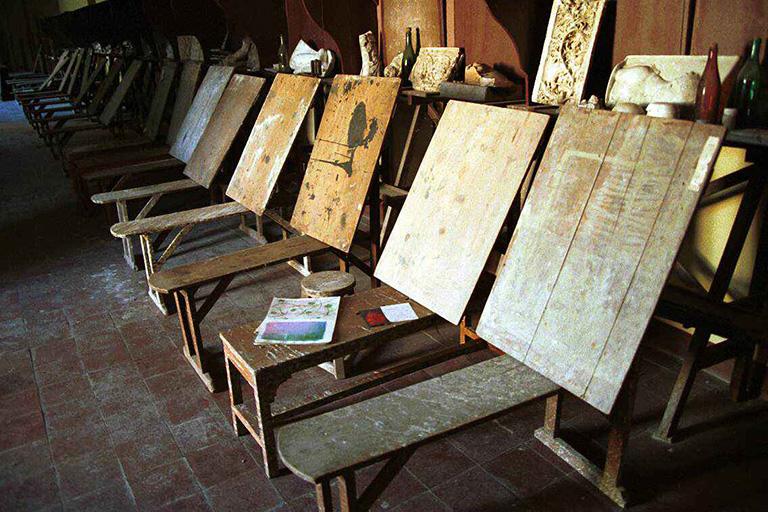 Pizarrines en el Aula Picasso