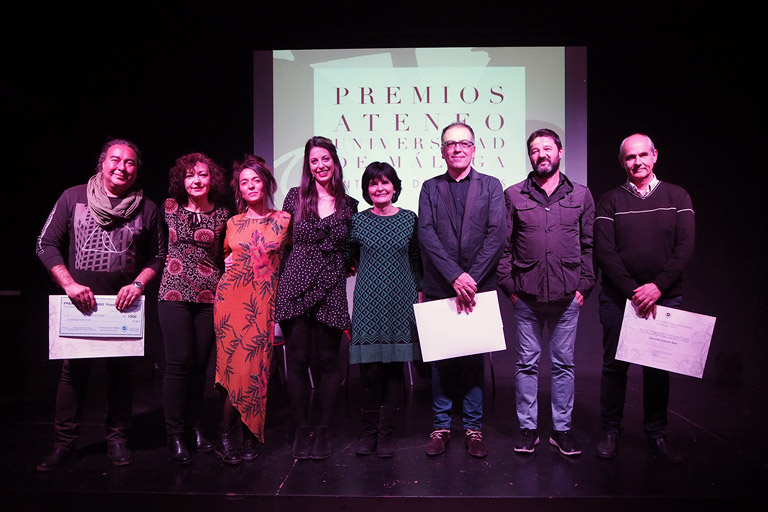 Entrega de Premios Ateneo-Universidad de Málaga, 2017