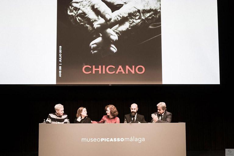 Presentación de la revista Ateneo del Nuevo Siglo dedicada a Eugenio Chicano, 2019