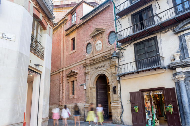 Fachada del Ateneo de Málaga - Fotografía: María Márquez
